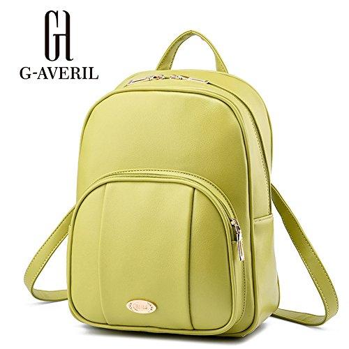 G-AVERIL GA1078-L - Bolso mochila  para mujer Verde verde verde