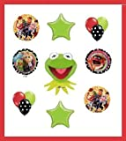 KERMIT THE FROG Piggy Animal balloons party decoration supplies birthday Muppets by Lgp