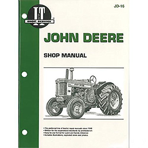 JD-16 New Tractor Shop Manual For John Deere Tractor 520 530 620 630 720 ()