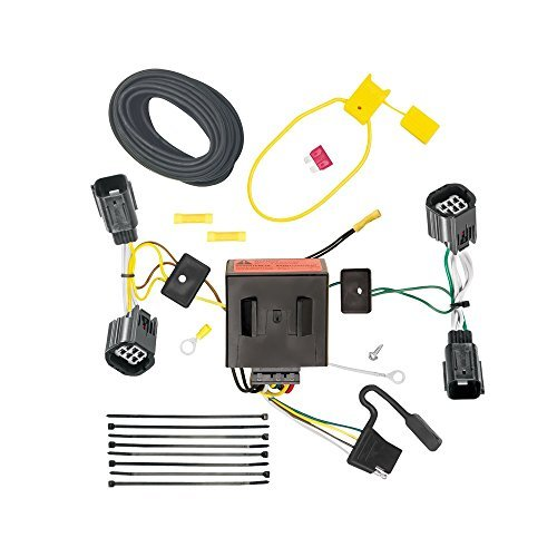 - DRAW TITE 118534 T-One Connector with Upgraded Circuit Protected ModuLite for Dodge Caravan/Chrysler Town/Country