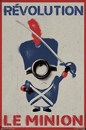Trends International Le Minion Mount Bundle Wall Poster, 22.375