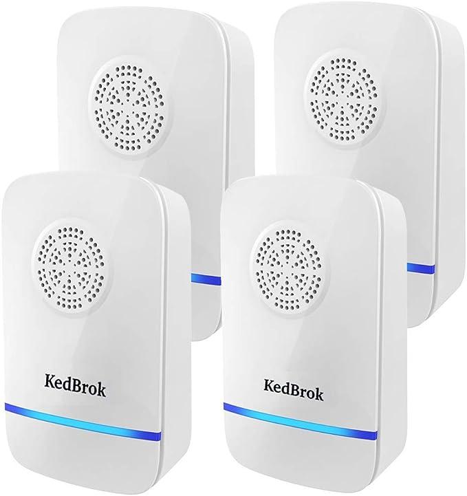 150 opinioni per KedBrok 4 Pack Antizanzare Ultrasuoni, Repellente ad Ultrasuoni Anti Zanzare