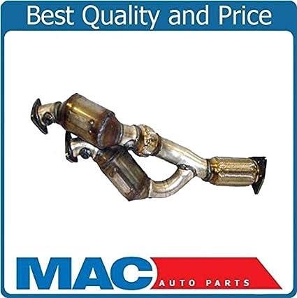 Amazon.com: Fits for 04-06 Porsche Cayenne 3.2L FRONT 2 Catalytic Converter Flex Pipe 17370: Automotive