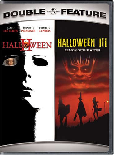 Halloween II / Halloween III: Season of the Witch (Double Feature) (Halloween Movies Jamie Lee Curtis)