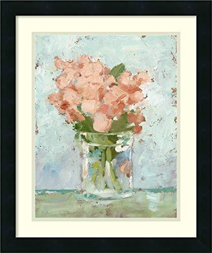 Framed Wall Art Print Impressionist Floral Study I by Ethan Harper 18.75 x 22.38 (Harper Floral Print)
