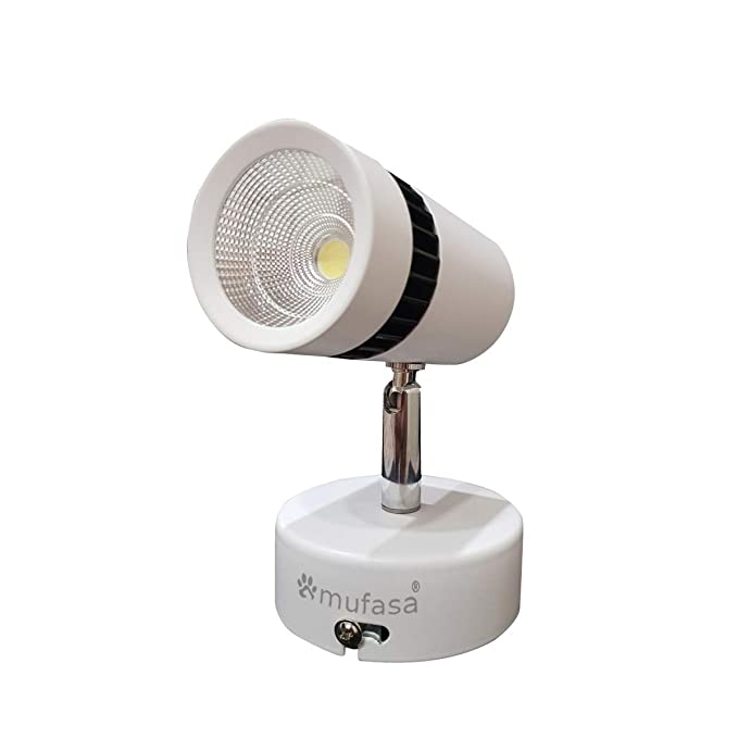 Mufasa LED Spot Light/Focus Light (for Wall or Ceiling Mount) 6500k (Cool White) 6W