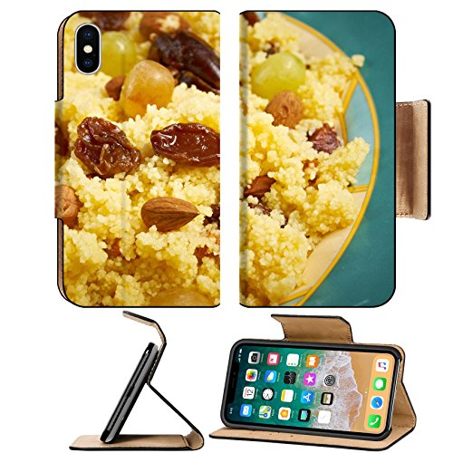 Couscous Salad - MSD Premium Apple iPhone X Flip Pu Leather Wallet Case IMAGE ID: 28032405 Mesfouf is an Algerian and Tunisian dish Citrus Couscous Salad