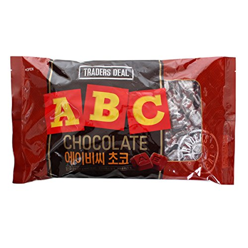 Tradersdeal ABC Character Chocolate, Big Size 30 Ounce (829g) -