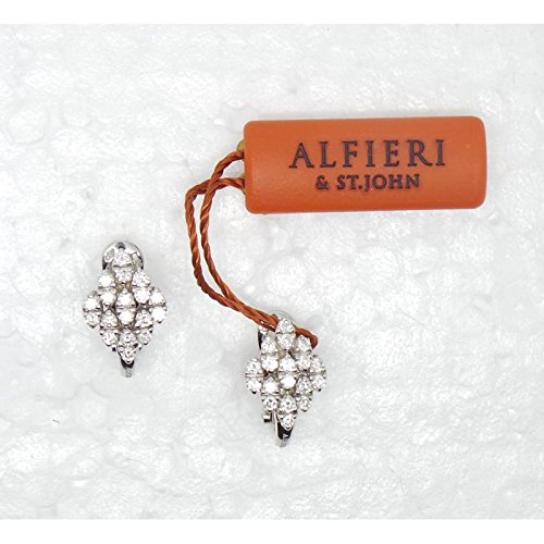 Boucles d'oreilles Alfieri H022_ B02or diamant