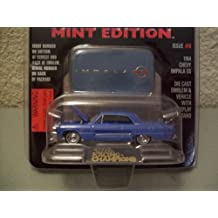 Racing Champions Mint Edition #18 Blue 1964 Chevy Impala SS