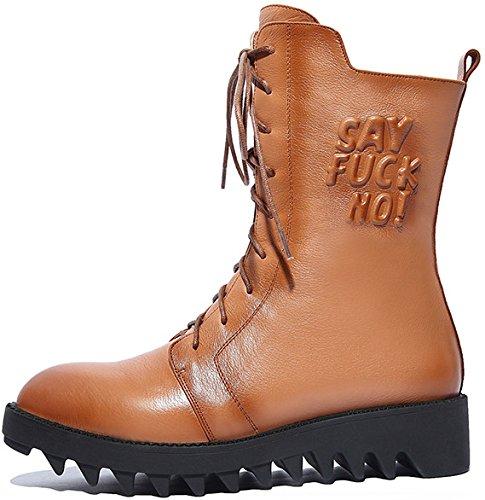Laruise Women's Dr Martens Boots apricot 8n5Vg3gq1