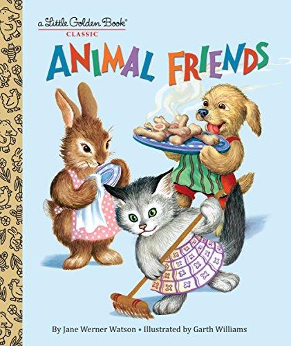 Animal Friends (Little Golden Book)