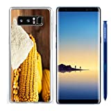 Luxlady Samsung Galaxy Note8 Clear case Soft TPU Rubber Silicone IMAGE ID 30906652 Ingredients for the preparation of bread from corn flour healthy food