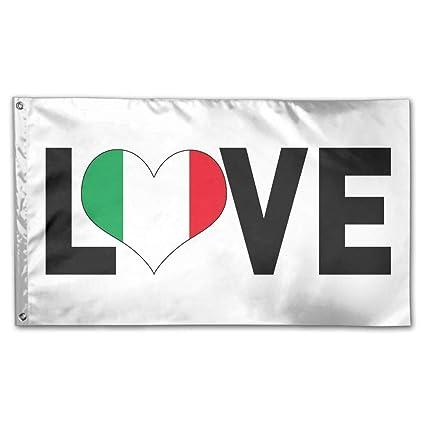 Amazon Liangrong Hui Italia Italy Italian Flag Garden Flag 3x5