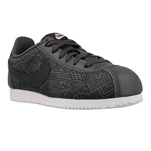 SHOES NIKE CLASSIC CORTEZ SE (GS) DRAK GREY / ANTHRACITE-WHITE