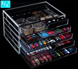 Acrylic Makeup, Cosmetic & Jewelry Organizer 5s