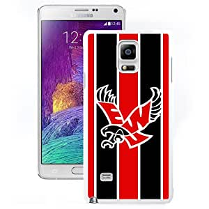 Beautiful Designed With NCAA Big Sky Conference Football Eastern Washington Eagles 1 Protective Cell Phone Hardshell Cover Case For Samsung Galaxy Note 4 N910A N910T N910P N910V N910R4 White