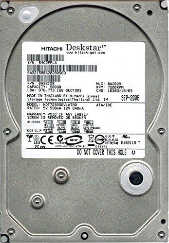 BA2028 500GB IDE 0A32158 MLC Hitachi HDT725050VLAT80 P//N