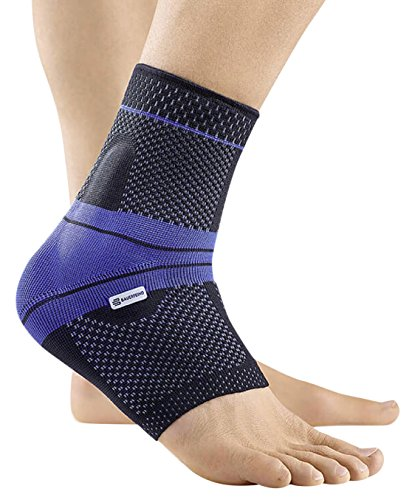 Bauerfeind MalleoTrain Left Ankle Support (Black, 6) by Bauerfeind