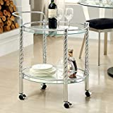 Traco Contemporary Style Serving Cart
