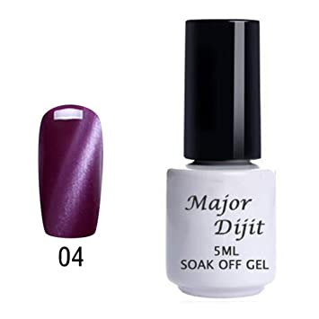 Amazon.com : Clearance Sale! Nail Polish Gel for Women, Iuhan 5ML Cat Eye Gel Nail Polish Nail Art Gel Polish UV LED Gel Polish (D) : Beauty