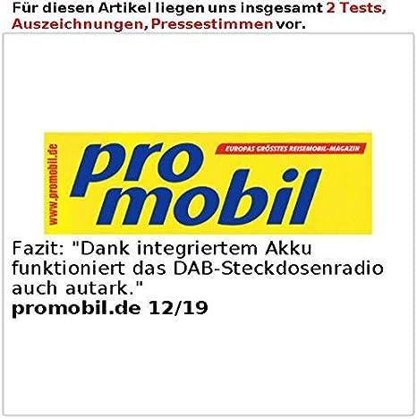 Vr Radio Badradio Steckdosenradio Mit Dab Fm Bluetooth Usb Freisprecher Akku 6 W Badradio Dab Amazon De Beleuchtung