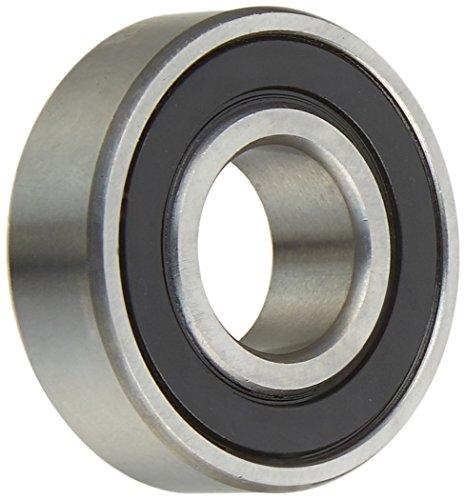 Two (2) 6202-2RS Sealed Bearings 15x35x11 Ball Bearings/Pre-Lubricated