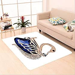 Sophiehome skid Slip rubber back antibacterial Area Rug jewelry best gift for loved ones 570234424 Home Decorative