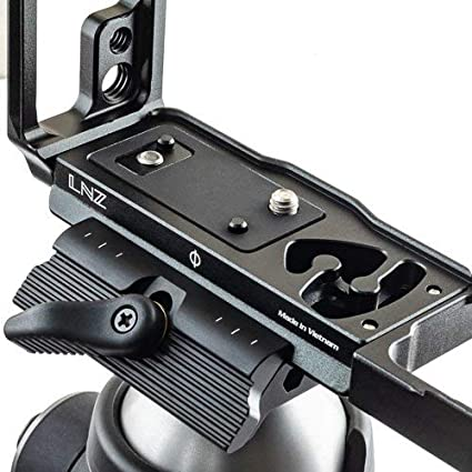 Bracket Black New 2019 Version Stabil LNZ : L Plate for NikonZ7 // Z6