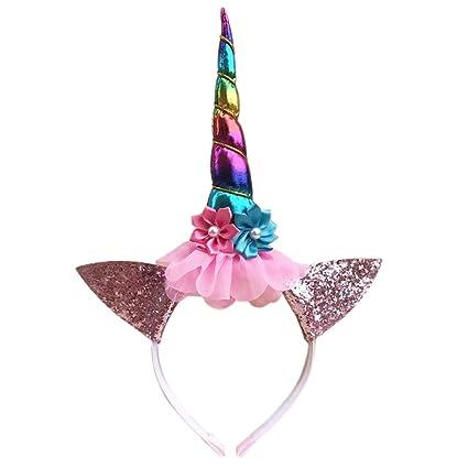 Diadema de unicornio para niñas de Gyrate Wholesale, para ...
