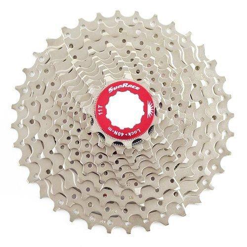 SunRace CSRX1 11 Speed Road Bike Cassette 11-36T, Silver #ST1568