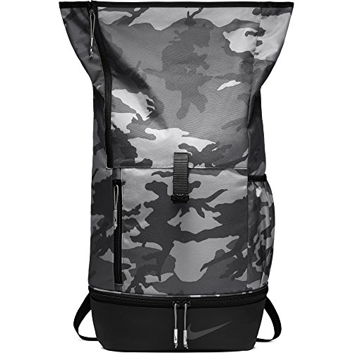 reputable site 2d80b 01a50 NIKE Sport All Over Print Golf Backpack, Anthracite Black Anthracite by NIKE  (