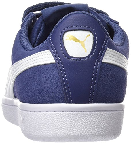 blue Bleu puma Indigo Vikky White Sneakers Basses Femme Puma xBPXqfBI