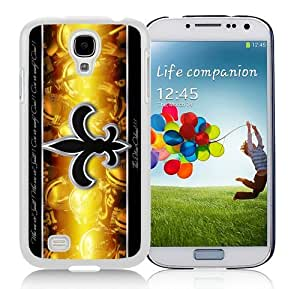 High Quality Samsung Galaxy S4 I9500 Case ,Cool And Fantastic Designed Case With New Orleans Saints 29 White Samsung Galaxy S4 I9500 Cover