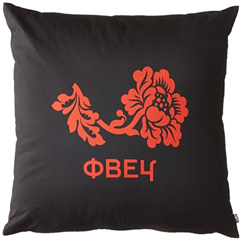 Obey Men's Obey Flower Pillow, black, One Size