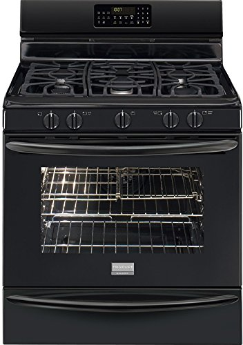 Frigidaire FGGF3058RB30' Black Gas Sealed Burner Range