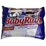 Baby Ruth Fun Size Candy Bars, 11.5 oz