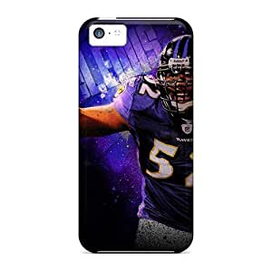 Iphone 5c YRB18153DPzY Provide Private Custom High-definition Baltimore Ravens Pattern High Quality Hard Phone Case -CristinaKlengenberg