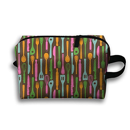 (Travel Buggy Bag Toiletry Pouch Toiletry Bag HiRes Printing Zipper Clutch Bag Travel)