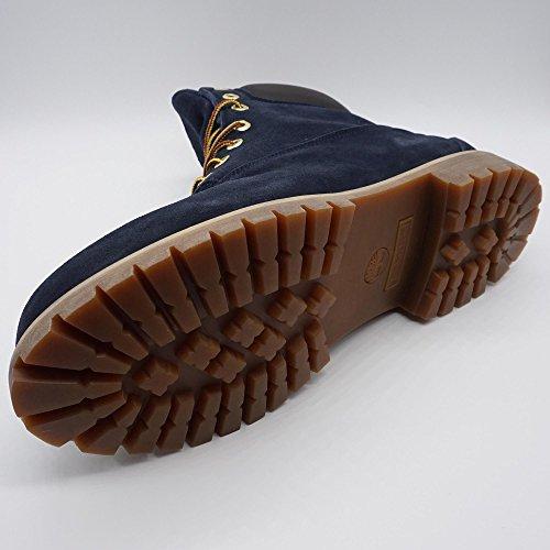 Timberland Exclusive 6 Inch Boot Uomo Stivali Stivaletti Boots Blu