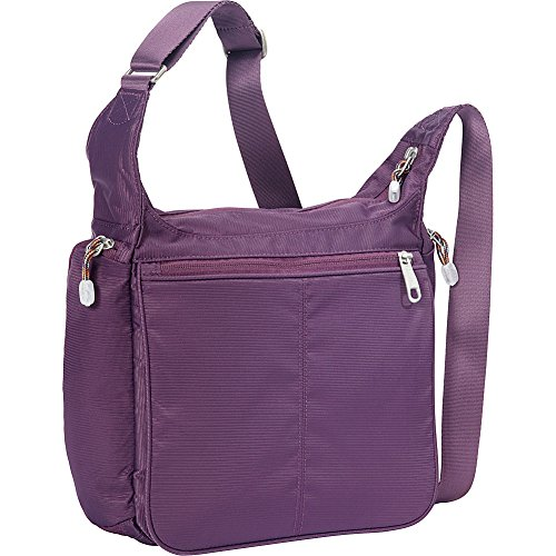 eBags Piazza Daybag 2.0 with RFID Security (Aubergine) by eBags