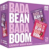 Enlightened Bada Bean Bada Boom Plant Protein Gluten Free Roasted Broad Fava Bean Snack, Sweet Variety Pack, 24 Count For Sale