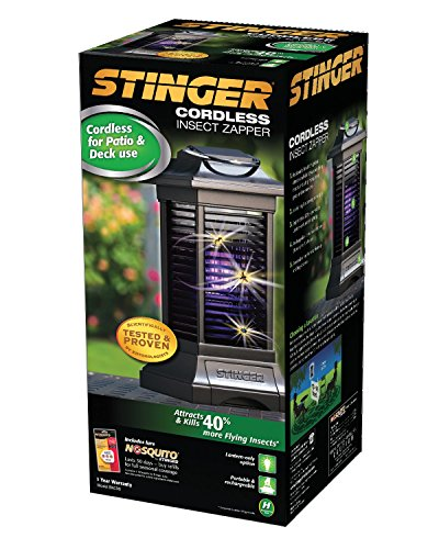 042578501008 - Stinger Cordless Rechargable Insect Zapper, Black carousel main 1