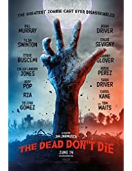"""Dead Don't Die ~ Original 27""""x 40"""" Double-sided Advance Movie Poster"""