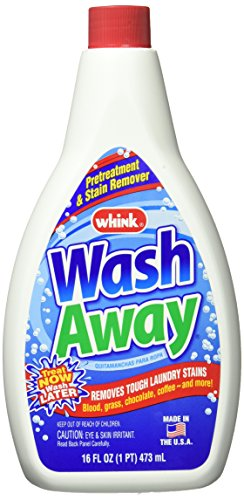 Whink - Wash Away Laundry Stain Remover for Tough Laundry Stains - 16oz, 6 Pack ()