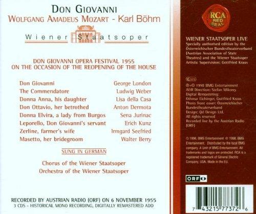 Wiener Staatsoper Live - Mozart: Don Giovanni / London, della Casa, et al