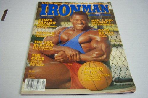 Ironman January 1990 Vince Taylor Courting Bodybuilding Success Arnold Talks Training Partners - Partner Man Iron