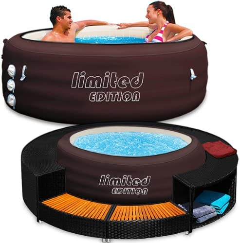 Bestway Lay-Z-Spa Whirlpool - Juego de jacuzzi y perfil para piscina: Amazon.es: Jardín