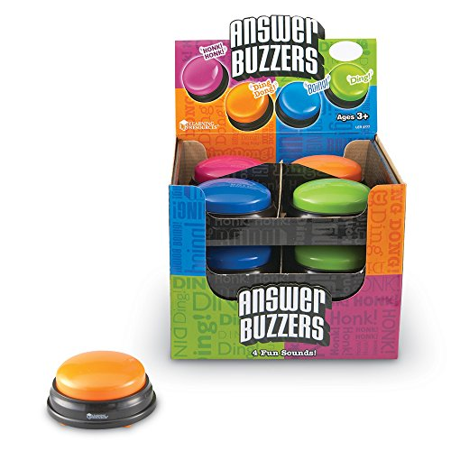 (Learning Resources Answer Buzzers Classpack, Classroom Tool)