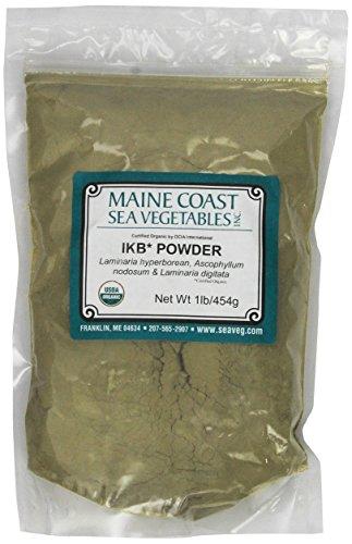 Organic Raw Icelandic Kelp Powder Blend - 1 Lb ()